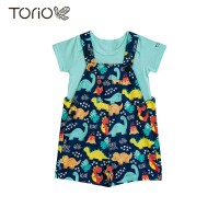 Torio My Tiny Little Dinosaurs Overall Set - Setelan Jumper Bayi