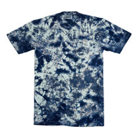 Summr Tie Dye T-Shirt Denim Bleach (Kaos Tie Dye, Tie-Dye)