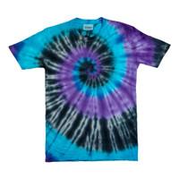 Summr Tie Dye T-Shirt Pasific Blue (Kaos Tie Dye, Tie-Dye)