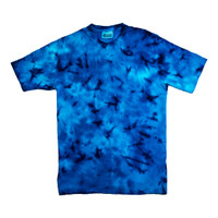 Summr Tie Dye T-Shirt Bluesea Reflection (Kaos Tie Dye, Tie-Dye)