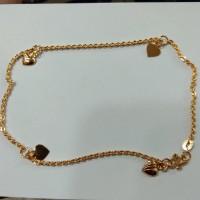 gelang kaki nori 3 gram emas muda