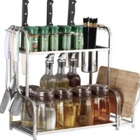 New Produk Rak Bumbu Dapur Stainless 638 Terlaris