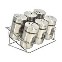 New Produk Krischef Set Tempat Bumbu Dapur 6 Pcs Terlaris