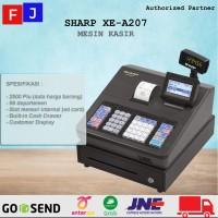 CASH REGISTER SHARP XE-A207B - MESIN KASIR SHARP 207 HITAM/BLACK