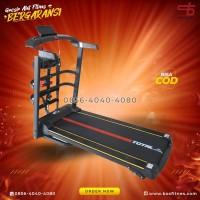 Alat Fitness Treadmill Elektrik TL-615 merk total bergaransi