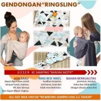 GENDONGAN BAYI RING SLING / GENDONGAN TRADISIONAL / GENDONGAN KAIN