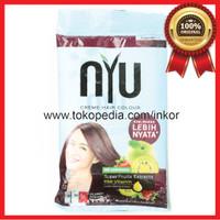 NYU CREME HAIR COLOUR BURGUNDY 5.62 SUPER FRUITS HAIR VITAMIN