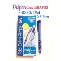 0.5 BIRU Pulpen Frixion CLICKER Erasable bs hapus Pilot pen ATK1098PL