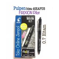 0.7 HITAM Pulpen Frixion CLICKER Erasable bs hapus Pilot pen ATK1099PL