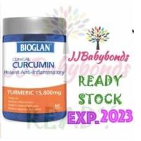 Bioglan Clinical Curcumin 60 Tablet (Turmeric 15,800mg)