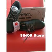 Sepatu Safety SIMON TS3011R Steel Toe Cap Safety Shoes Kulit Sapi - 39