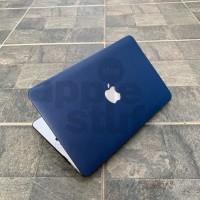 MacBook Case LEATHER BLUE