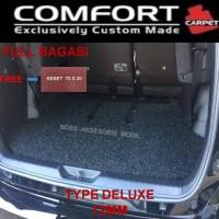 Karpet comfort Deluxe Khusus Innova 2005-2015 3 Baris + Bagasi