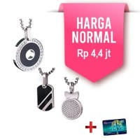 1 GET 1 KK LIFORCE CIRCLE STONE LIMITED EDITION KALUNG ANTI RADIASI