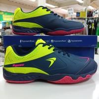 ORIGINAL Sepatu badminton bulutangkis Flypower Losari 03 navy hijau