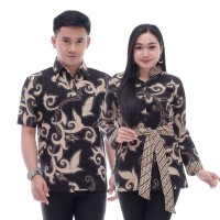 Baju Batik Couple Atasan Pria dan Wanita - Batik Hem & Blouse
