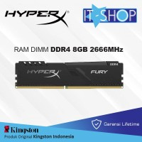 Kingston Memory Module Long Dimm HyperX Furry 8GB DDR4 2666 MHz