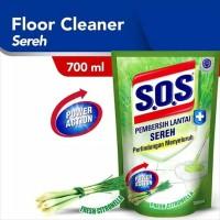SOS Pembersih Lantai Sereh Refill 750 ml