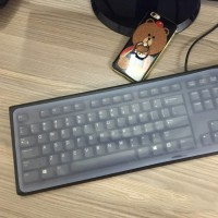 Cover / Pelindung Papan Ketik / Keyboard Desktop PC (37*14cm)