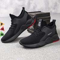 PHM Shoes Sepatu Pria Sneakers Import Sepatu Olahraga Kasual PHM109 - Hitam, 39