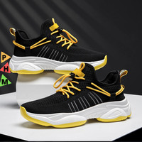 PHM Shoes Sepatu Pria Sneakers Import Sepatu Olahraga Kasual PHM302