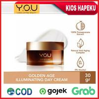 Kosmetik YOU Golden Age Illuminating Day Cream/Krim Siang SPF 30 Plus