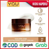 Kosmetik YOU Golden Age Revitalizing Night Cream/Krim Malam 30g