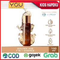 Kosmetik YOU Golden 2 In 1 Essence 100 ml Original BPOM
