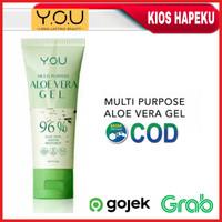 Kosmetik YOU Multi Purpose Aloe Vera Gel 96% Penutrisi Kulit BPOM