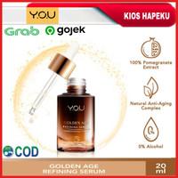 Kosmetik YOU Golden Age Refining Serum/Serum Pencerah Wajah Original