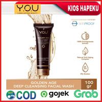 Kosmetik YOU Golden Age Deep Cleansing Facial Wash/Sabun Wajah