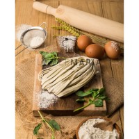 Handmade Artisan Pasta - Basil and Spinach Pasta 400g