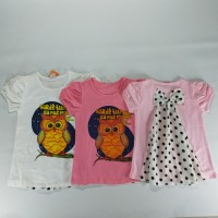 Kaos Anak Perempuan Model Baru Blus Import Kualitas Dan Model Bagus N