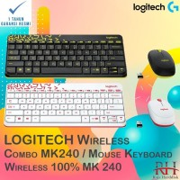 Logitech MK240 Wireless Combo | MK 240 Keyboard Mouse