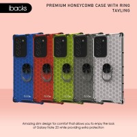 ibacks Tavling + Finger Holder Premium Case for Galaxy Note 20 Ultra