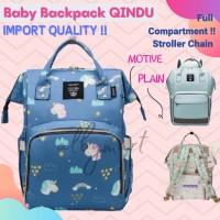 Tas Bayi Anello Diaper Bag Backpack Ransel Multifungsi mirip land - navy