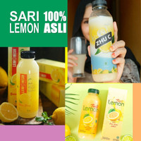 Minuman Sari Lemon Asli Fresh Murni 500 ml 100% Original - Juice Diet - ZHU C