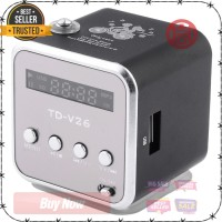 Speaker Mini Portabel FM Radio TF Card - TD-V26 best quality