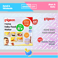 PIGEON HOME BABY FOOD MAKER - Free Travel Pouch