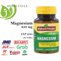 Nature Made Magnesium 250 mg 100 caps ORI USA