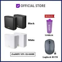 ASUS ZenWiFi AX-6600 Whole-Home Tri-Band Mesh WiFi 6 System XT8 - Hitam