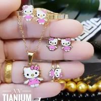 Titanium Set Perhiasan Anak d926