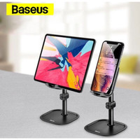 Baseus Stand Phone Holder Dudukan Handphone/Tab/Desktop Bracket - Hitam