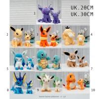 Boneka Pokemon Pikachu 20cm Psyduck Pokemon umbreon jolteon leafleaon