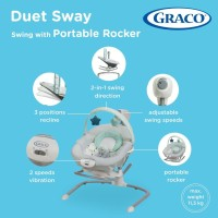 Duet Sway™ Swing with Portable Rocker / Bouncer Graco