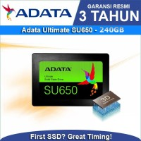 SSD Adata 240GB - SU650 Ultimate SATA III