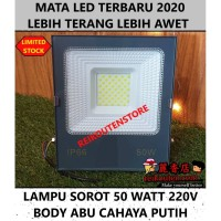 Lampu sorot FLOOD SMD 50W 50 W 50 WATT tembak outdoor lapangan 150 LED