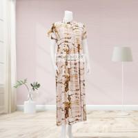 Lunaci Gold Marine Maxi Dress