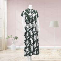 Lunaci Green Two Town Maxi Dress