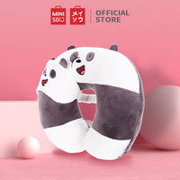 Miniso Official We Bare Bears U-shaped Neck Pillow - Panda